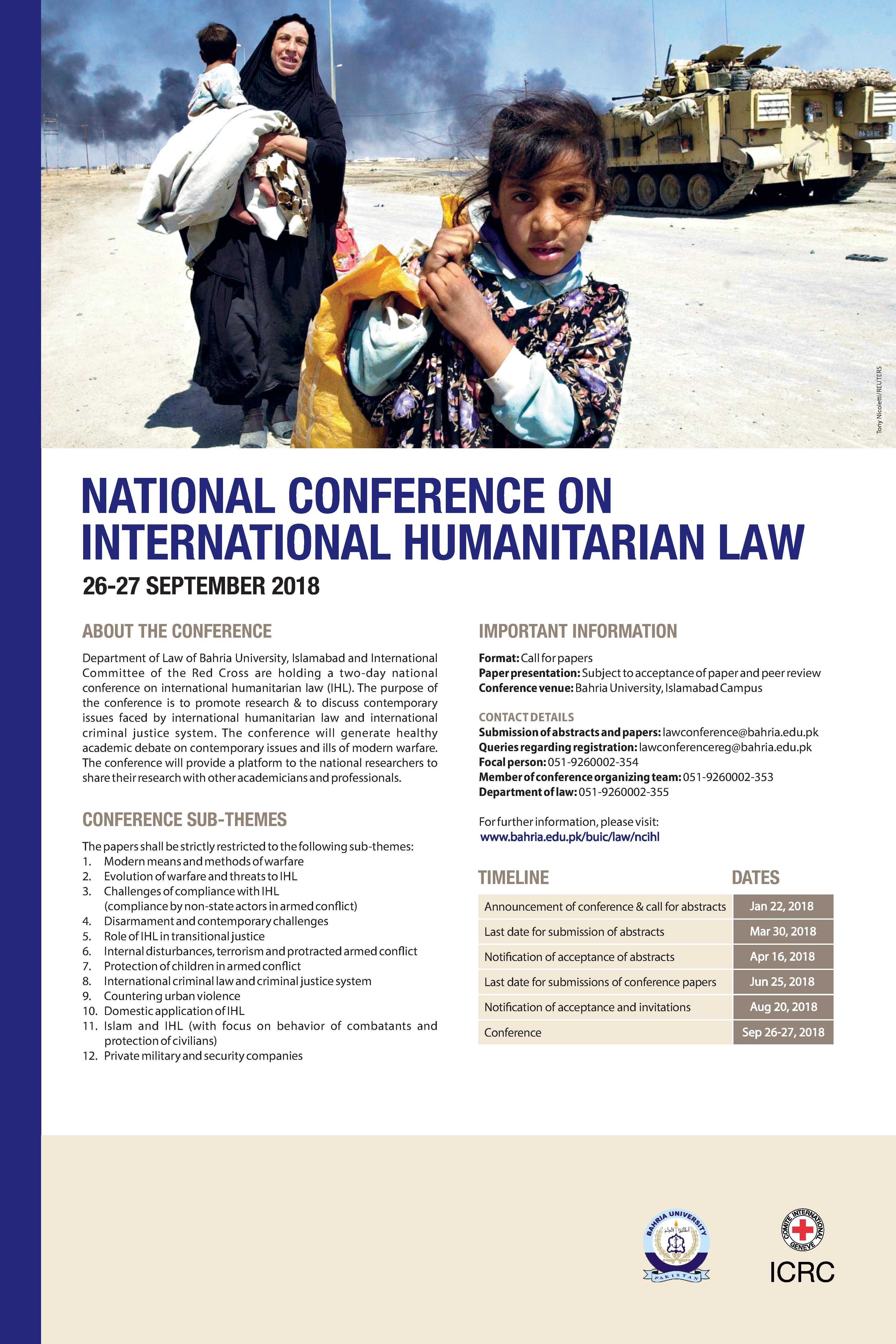 2018_NCIHL_Bahria University_Poster