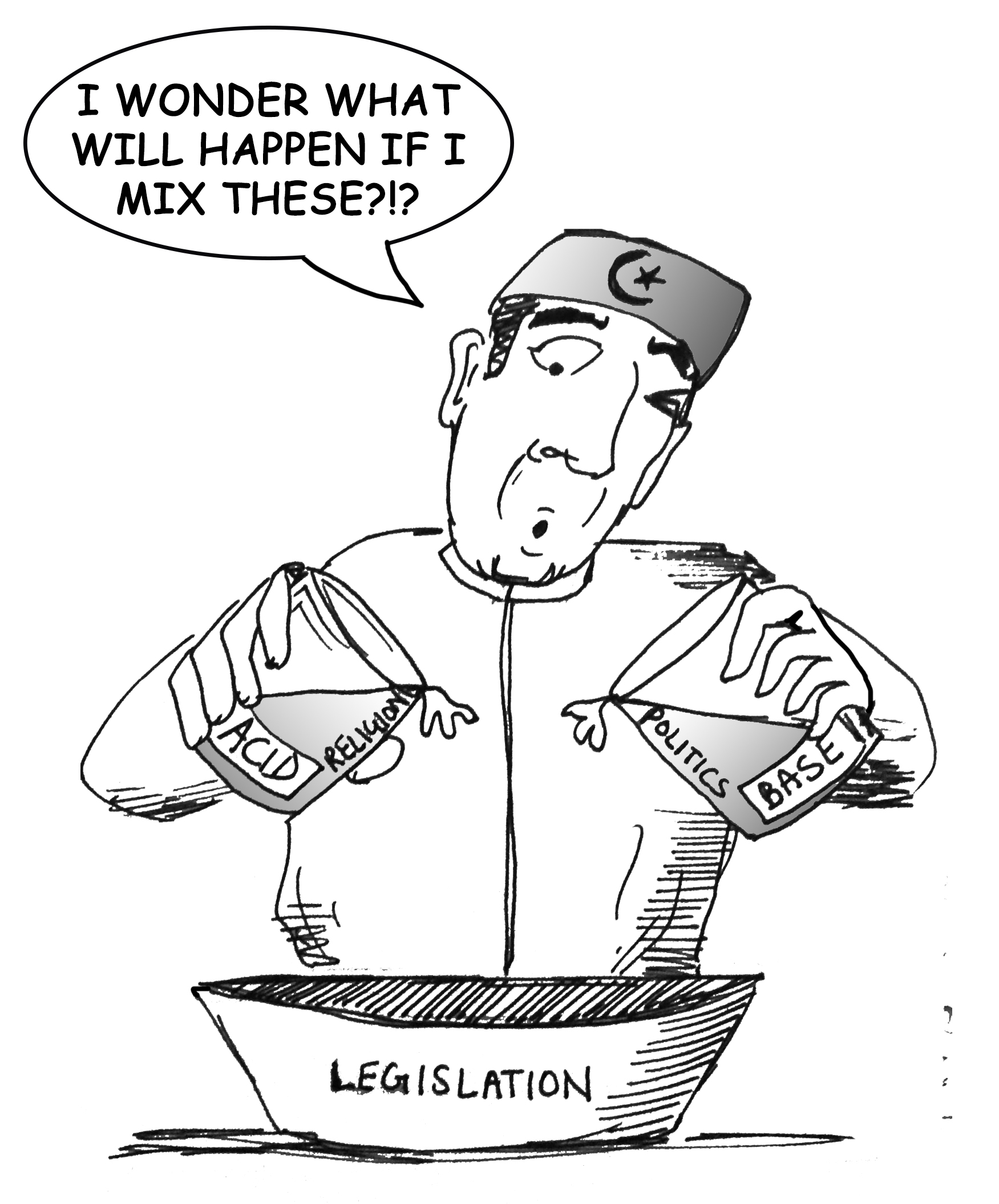 Religion +Politics = Legislation?