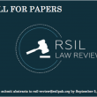 Call for Papers - Law Review 2016